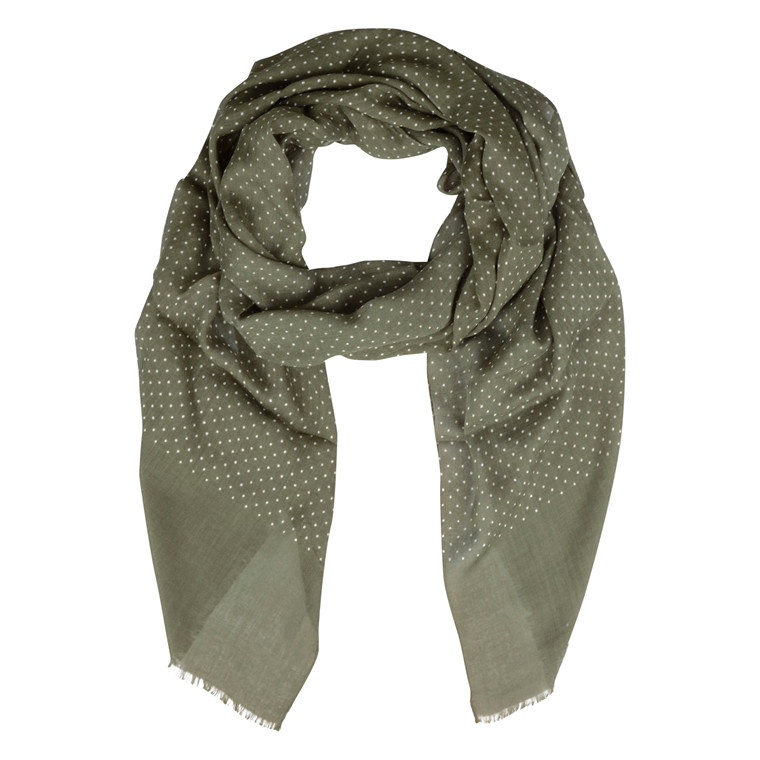 Atlas Design GREEN DOT SCARF