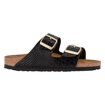 BIRKENSTOCK ARIZONA BLACK SNAKE