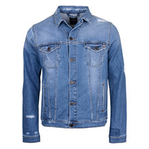 BLUE DE GENES FABIO LIGHT DENIM JACKET