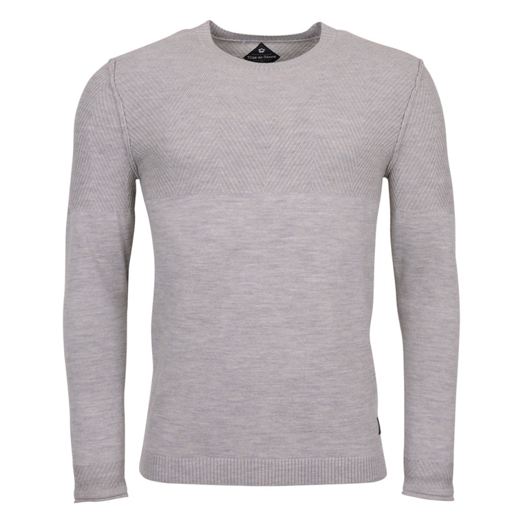 BLUE DE GENES MONTECELLO GREY KNIT