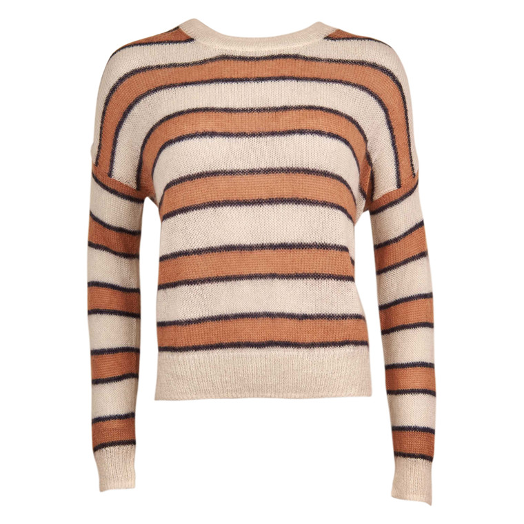 CLOSED WOMENS STRIPE KNIT