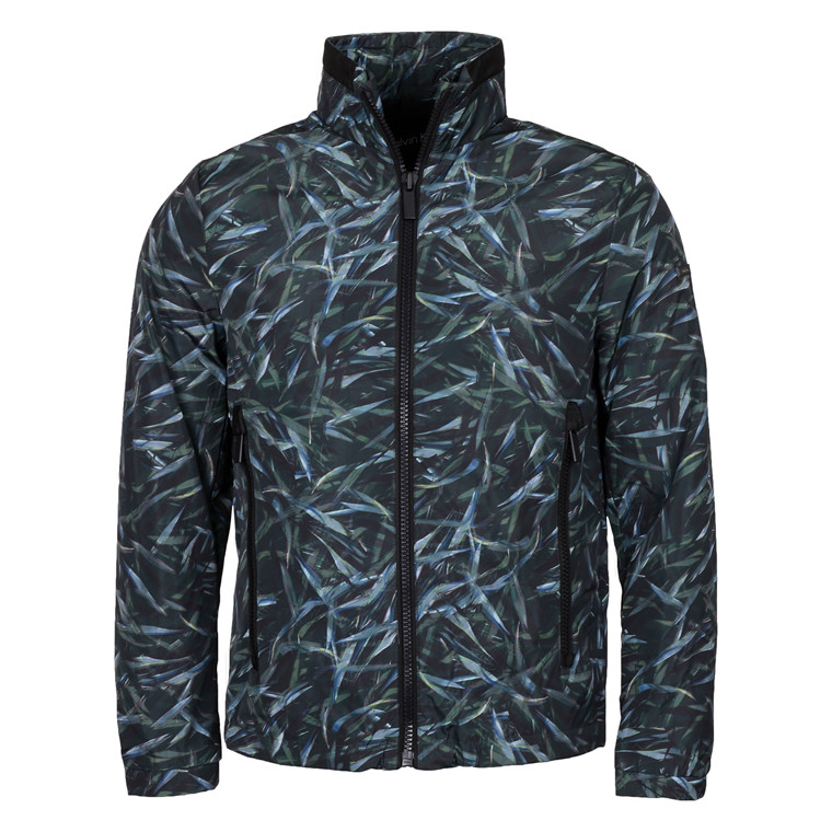 Calvin Klein JUNGLE LEAF PRINT JACKET