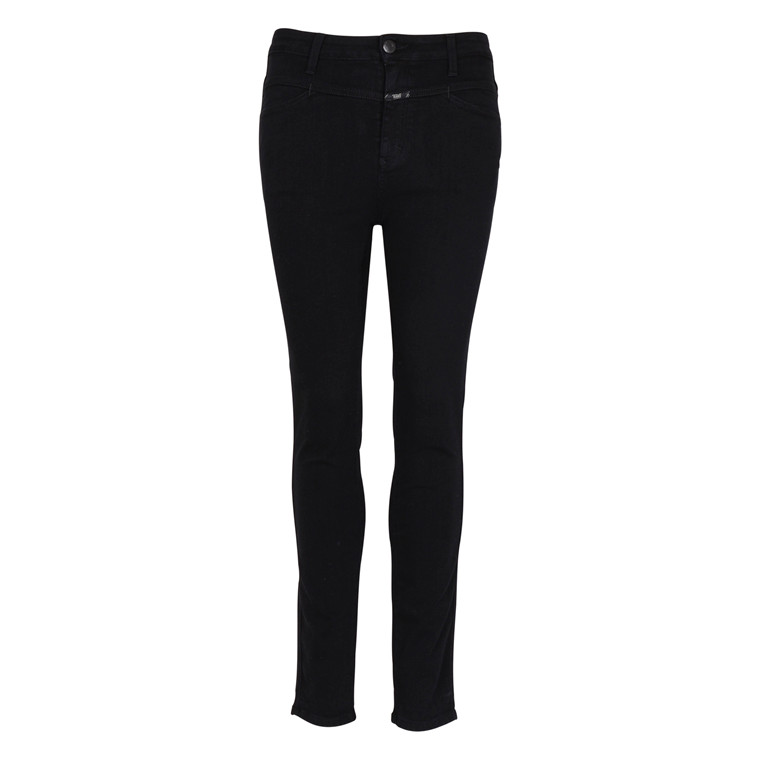 CLOSED SKINNY PUSHER BLACK