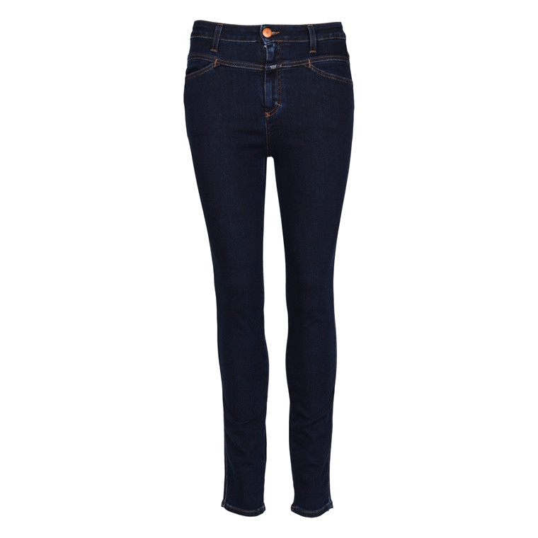 CLOSED SKINNY PUSHER DEEP BLUE