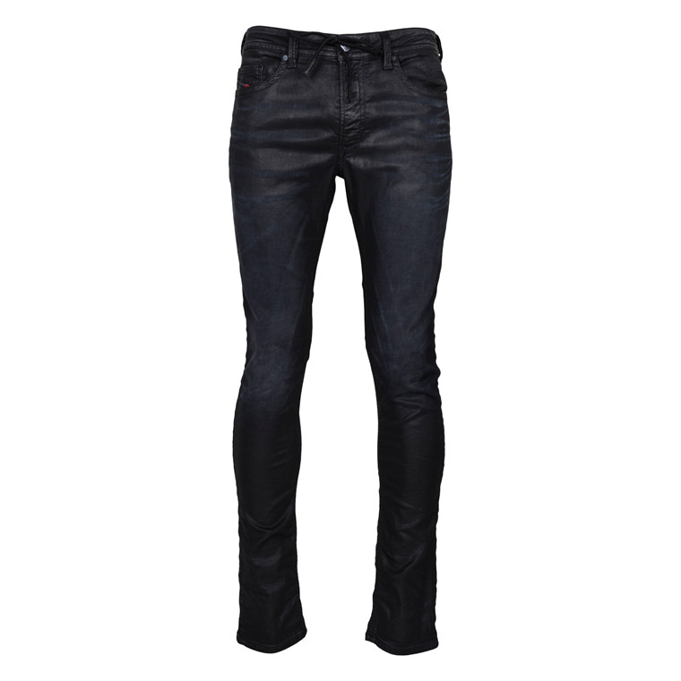 DIESEL THAVAR BLACK SWEAT JEANS