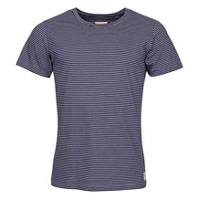 ELSK NAVY STRIPED TEE