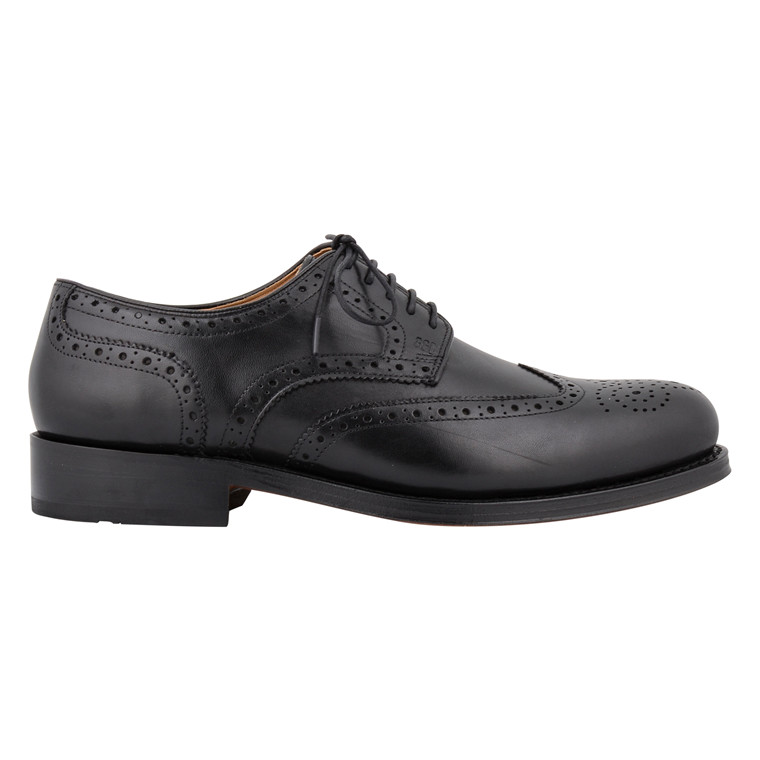GORDON & BROS MENS BROGUES BLACK