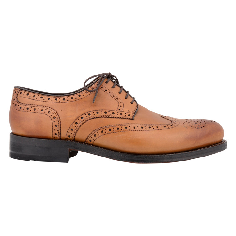 GORDON & BROS MENS BROGUES TAN