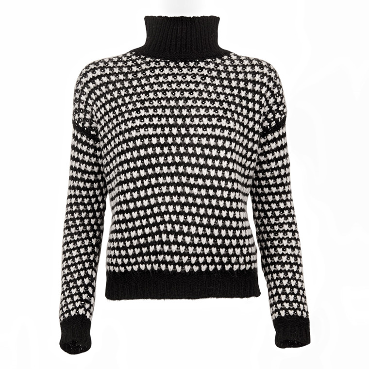 HUGO BOSS SUZAN KNIT BLACK