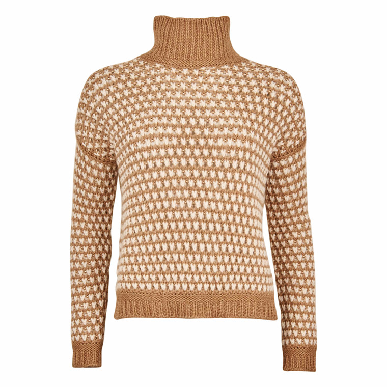 HUGO BOSS SUZAN KNIT CAMEL