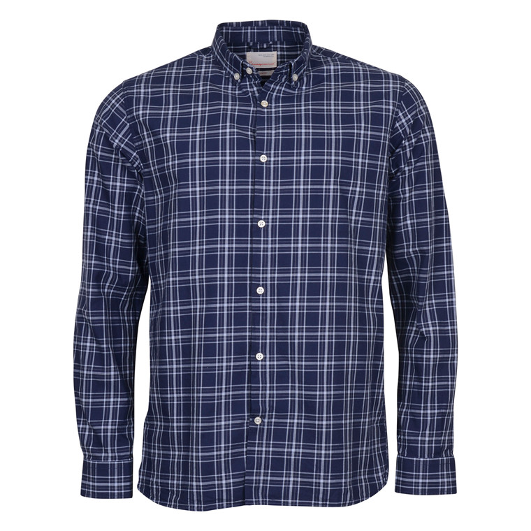 Knowledge Cotton Apparel INDIGO LOOK C. SHIRT