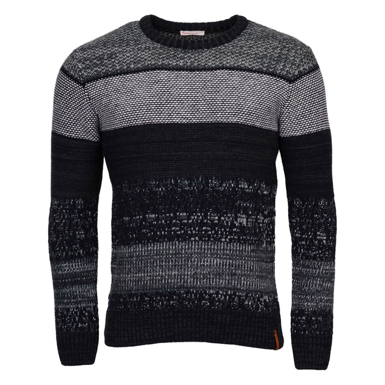 Knowledge Cotton Apparel MULTI JAQUARD KNIT