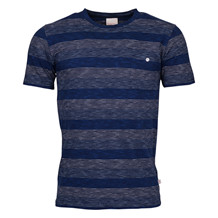 Knowledge Cotton Apparel NARROW STRIPED TEE