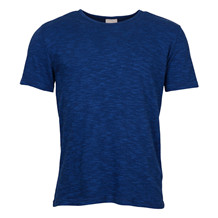 Knowledge Cotton Apparel PIQUE INDIGO TEE