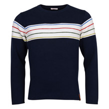 Knowledge Cotton Apparel ROUND N. KNIT W. STRIPES