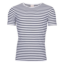 Knowledge Cotton Apparel SINGLE STRIPED TEE