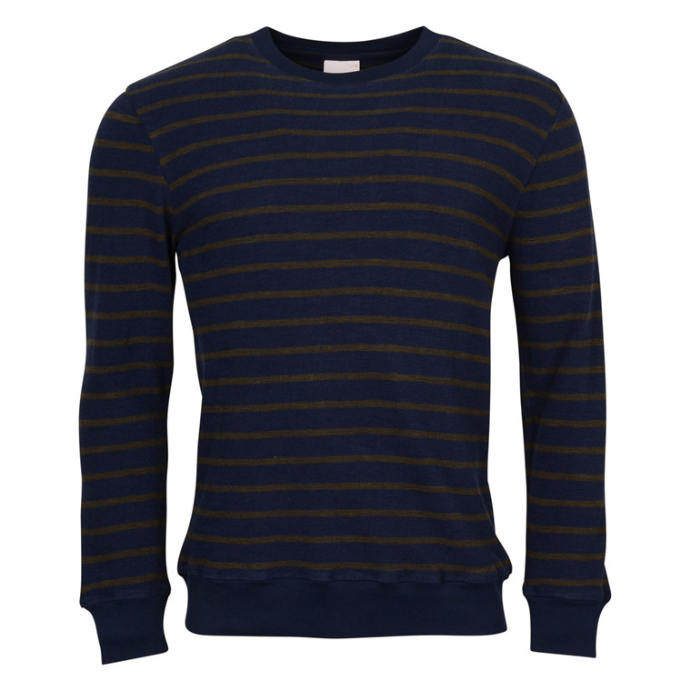 Knowledge Cotton Apparel STRIPED SWEAT