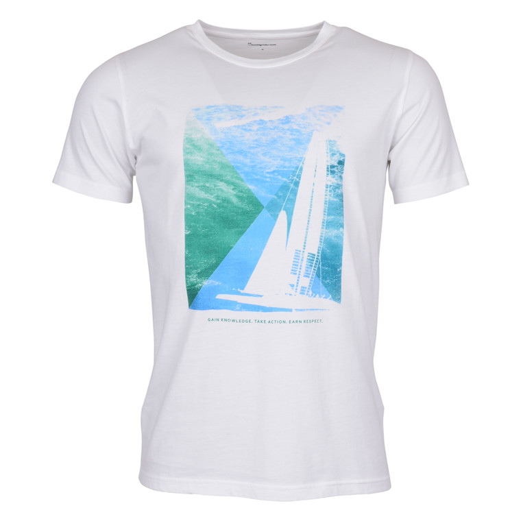 Knowledge Cotton Apparel T-SHIRT SAILOR