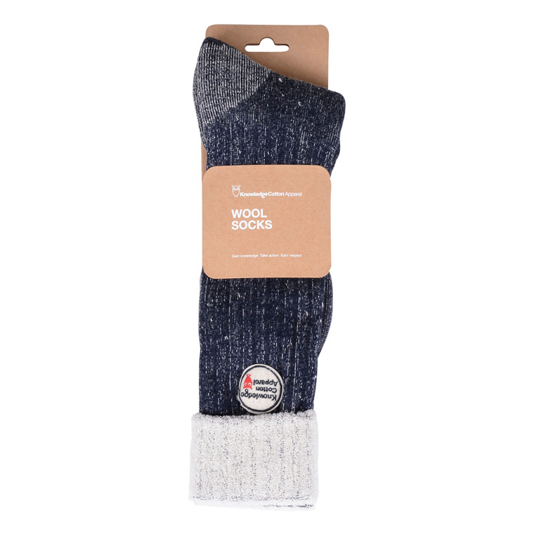 Knowledge Cotton Apparel TERRY SINGLE PAC SOCK-NAVY