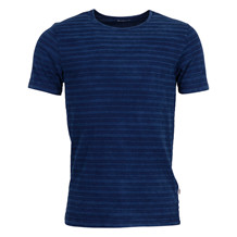 Knowledge Cotton Apparel YARNDYED INDIGO T-SHIRT