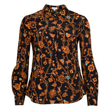 LALA BERLIN LEENEA SILK BLOUSE