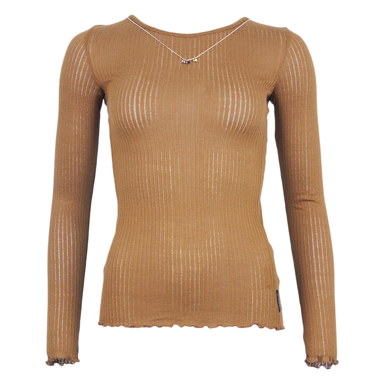 MAISON SCOTCH LONG SLEEVE BASIS TEE
