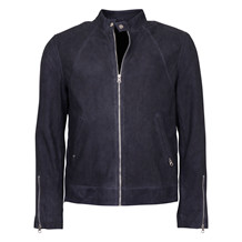 MDK NAVY SUEDE JACKET