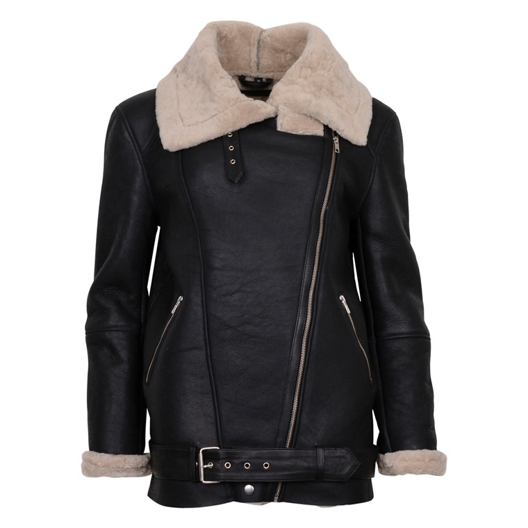 MDK SHEARLING JACKET BROWN