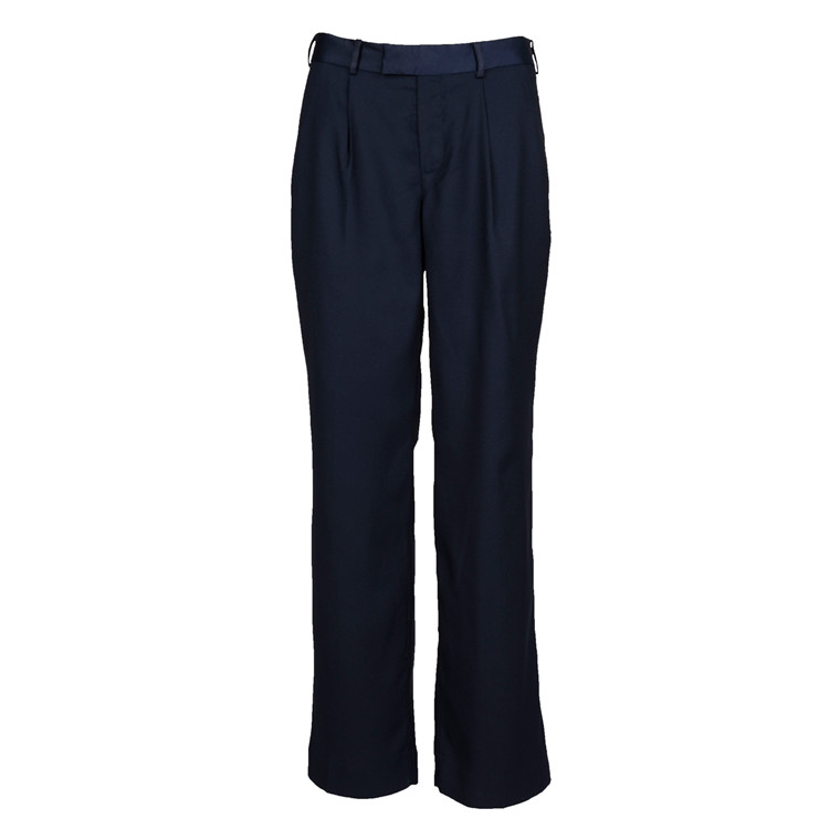 MAISON SCOTCH WIDE LEG PANT NAVY
