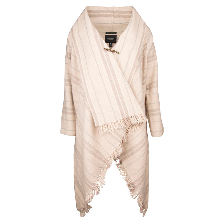 MAISON SCOTCH WOOL PONCHO