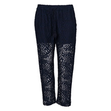MAISON SCOTCH LACE PANT BLUE