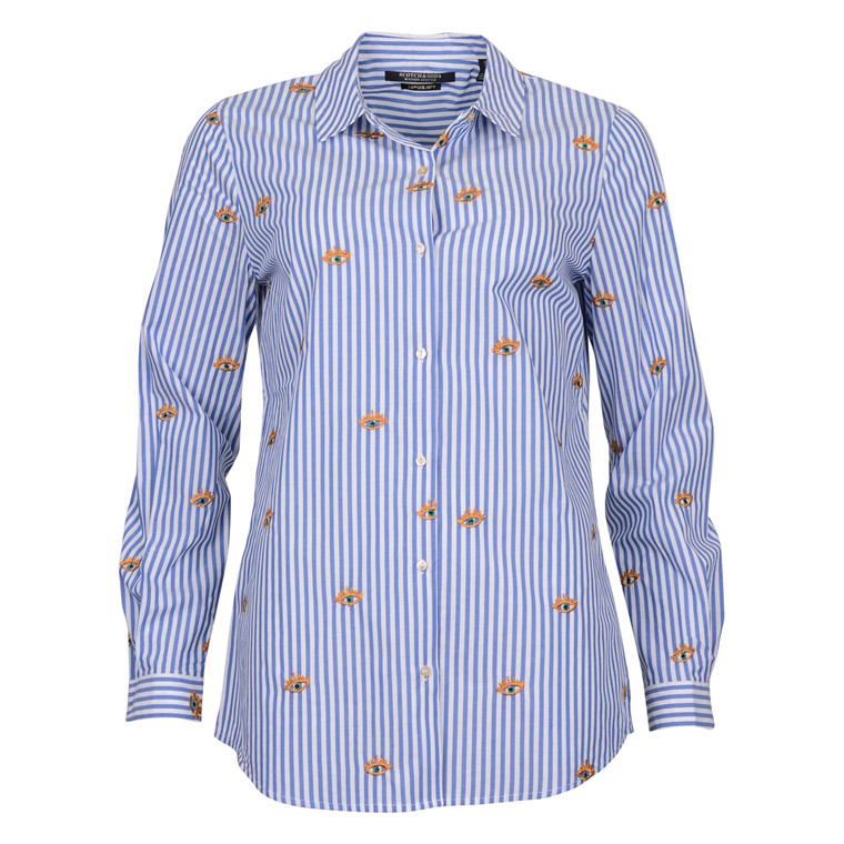MAISON SCOTCH LONG SLEEVE B. UP SHIRT