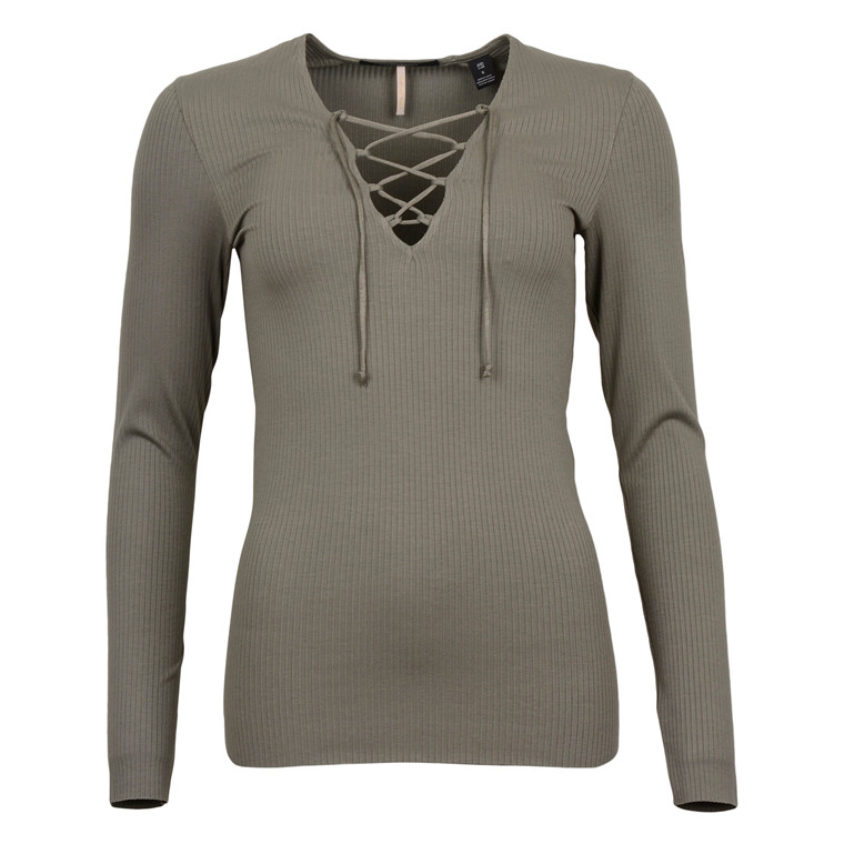 MAISON SCOTCH LONG SLEEVE FITTED