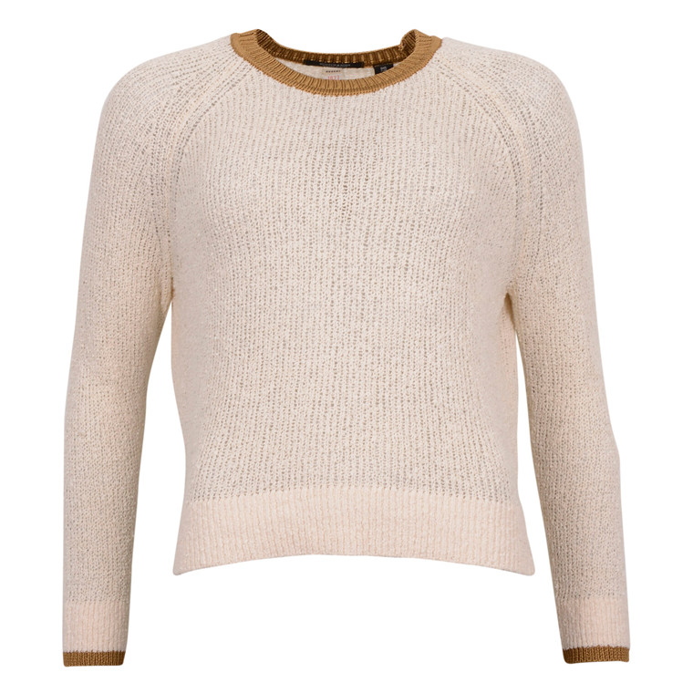 MAISON SCOTCH RELAXED KNIT RIB DETAIL