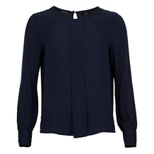 MAISON SCOTCH SILKY FEEL TOP BLUE