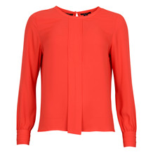MAISON SCOTCH SILKY FEEL TOP RED