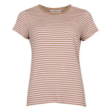 MAISON SCOTCH SLIM FIT ROUND NECK TEE ROSE
