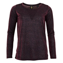 MAISON SCOTCH TEE L/S LUREX