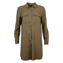 MAISON SCOTCH TENCEL SHIRT DRESS