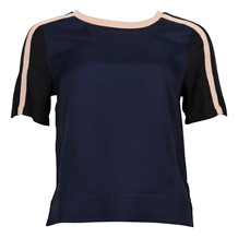 MAISON SCOTCH TOP KNITTED TAPES