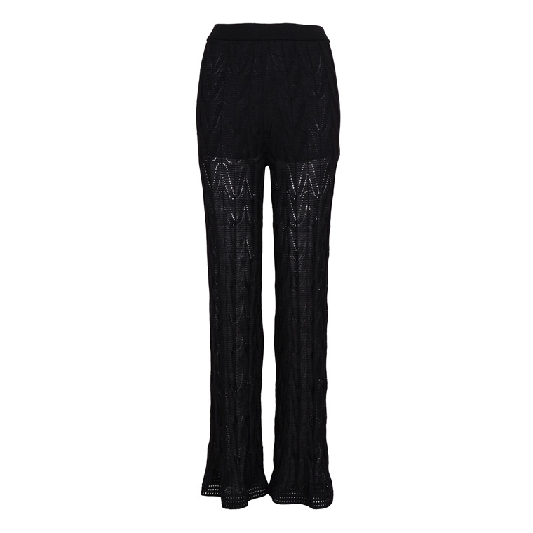 MISSONI ITALY WIDE KNIT TROUSERS
