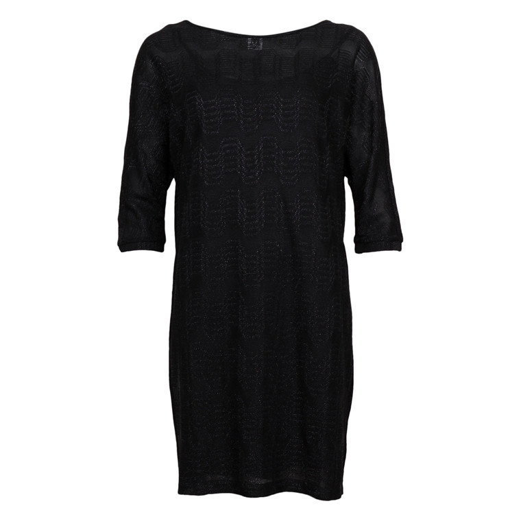 MISSONI ITALY DRESS BLACK LUREX