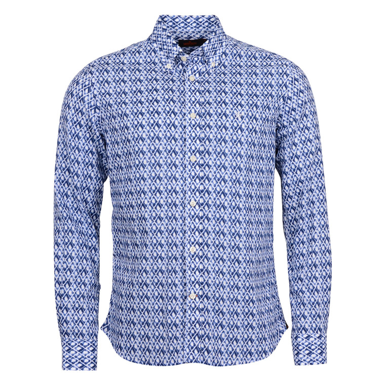 MORRIS NORMAN PRINTED SHIRT