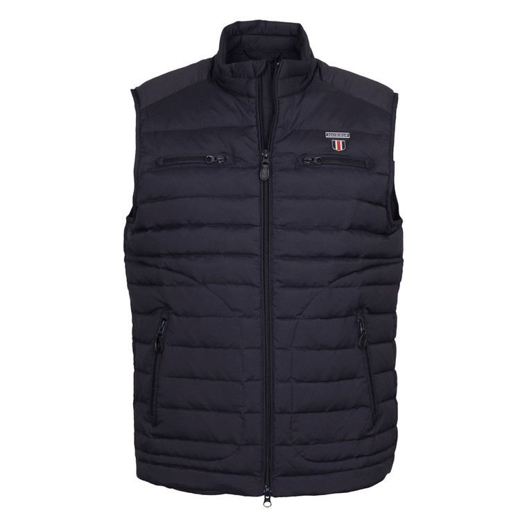 MORRIS REED DOWN VEST - OLD BLUE