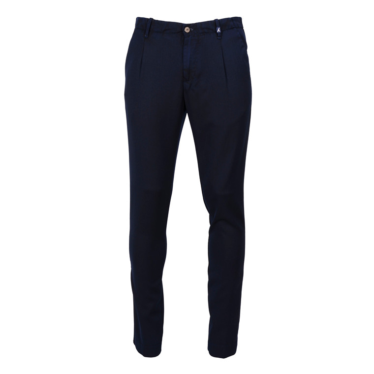 MYTHS LUX ITALIAN WOOL STRETCH PANTS
