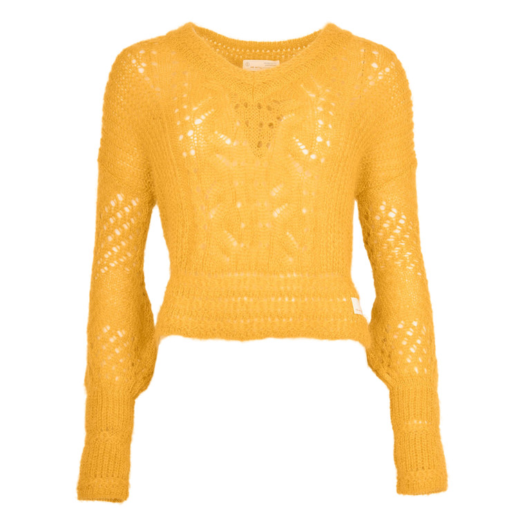 ODD MOLLY SMASHING SWEATER OCHRE