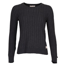 ODD MOLLY RIBBEY KNIT ALMOST BLK