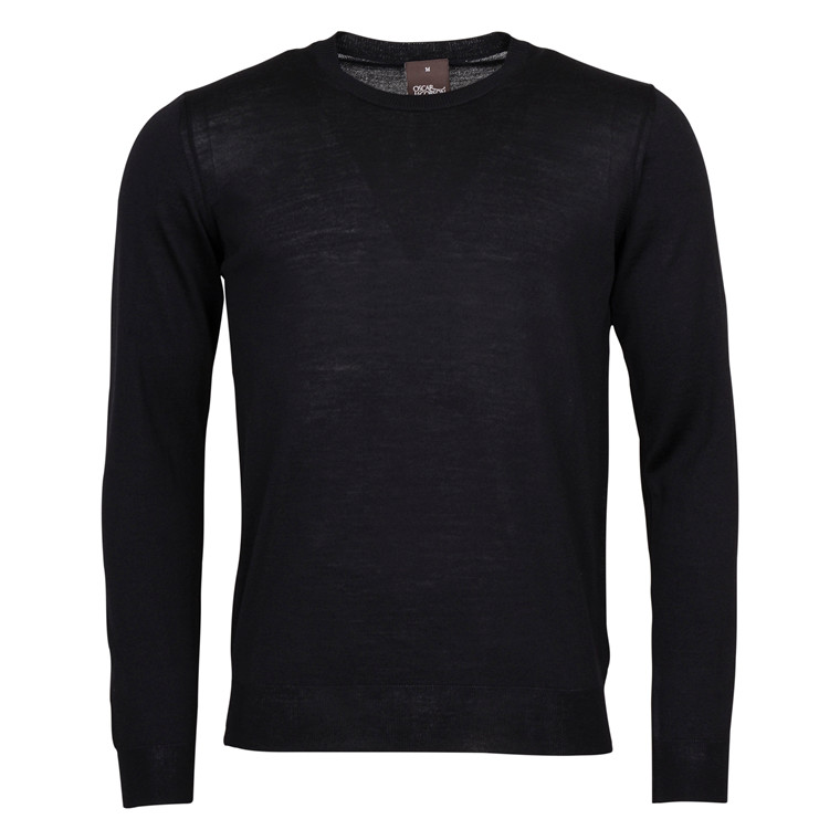OSCAR JACOBSON CUSTER MERINO R.NECK-311