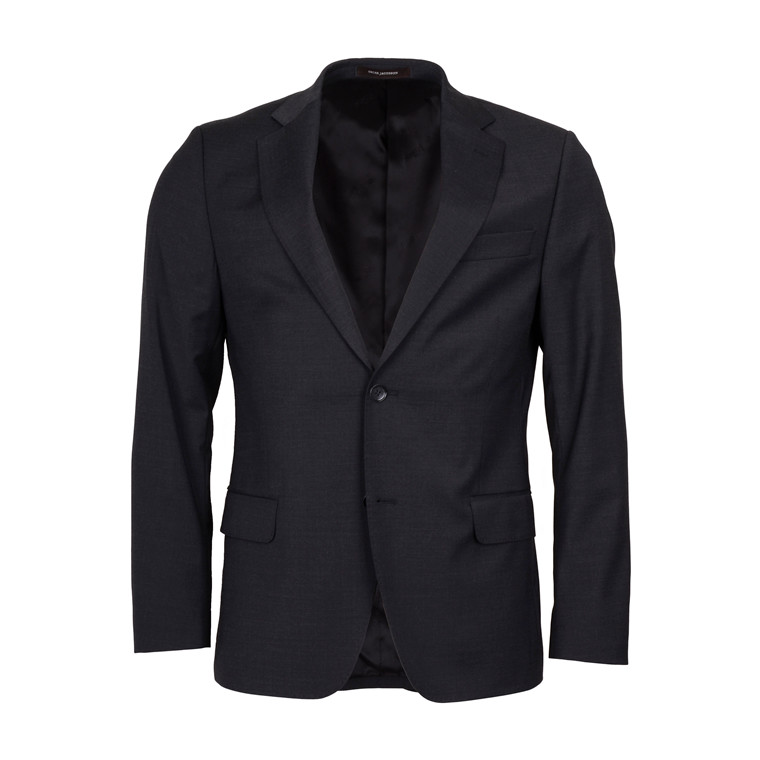 OSCAR JACOBSON EDMUND STRETCH BLAZER-GREY