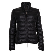 PJS JODIE BLACK LEATHER JACKET